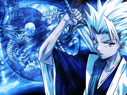 Kubo Tite, Studio Pierrot, Bleach, Toshiro Hitsugaya Wallpaper