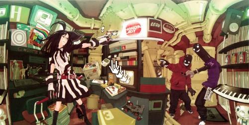 Yuusuke Kozaki, Pixiv Girls Collection, Pixiv