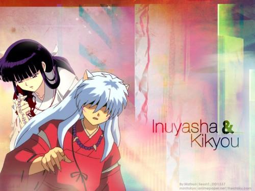 Rumiko Takahashi, Inuyasha, Inuyasha (Character), Kikyou Wallpaper