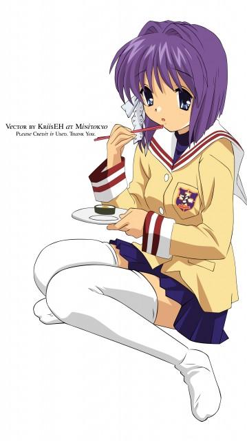 Kyoto Animation, Clannad, Ryou Fujibayashi, Vector Art
