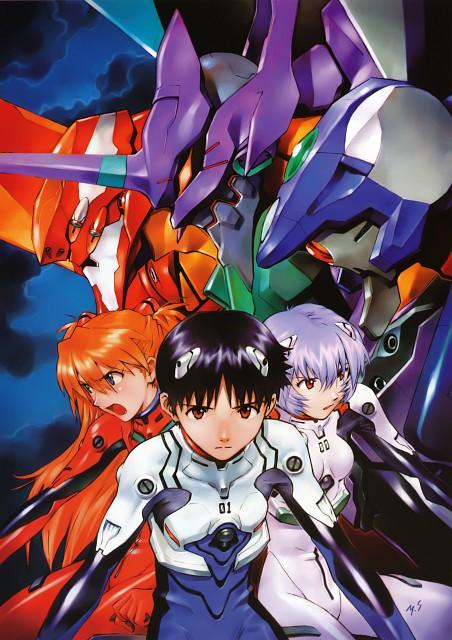 Yoshiyuki Sadamoto, Gainax, Neon Genesis Evangelion, Carmine, Unit-02