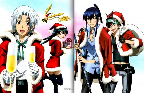 TMS Entertainment, D Gray-Man, Lenalee Lee, Lavi, Yu Kanda