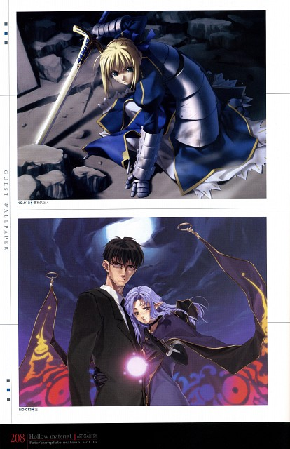 Takashi Hashimoto, TYPE-MOON, Fate/complete material V Hollow material., Fate/Hollow ataraxia, Caster (Fate/stay night)