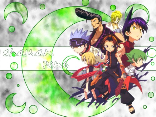 Hiroyuki Takei, Xebec, Shaman King, Ren Tao, Ryunosuke Umemiya Wallpaper
