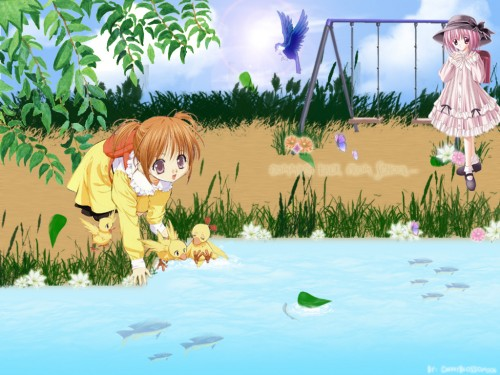 Tinkerbell, Café Little Wish, Sister Princess, Hinako, Lily (Cafe Little Wish) Wallpaper