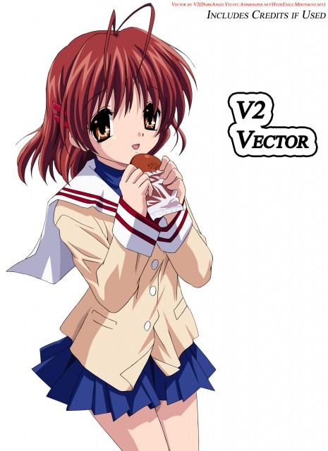 Kyoto Animation, Clannad, Nagisa Furukawa, Vector Art