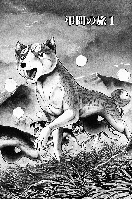 Yoshihiro Takahashi, Ginga: Nagareboshi Gin, Smith, Gin , Chapter Cover
