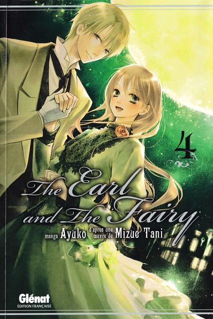 Ayuko, Earl and Fairy, Edward Ashenbert, Lydia Carlton, Manga Cover