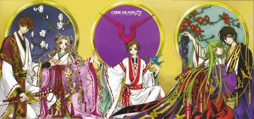 CLAMP, Takahiro Kimura, Sunrise (Studio), Lelouch of the Rebellion, C.C.
