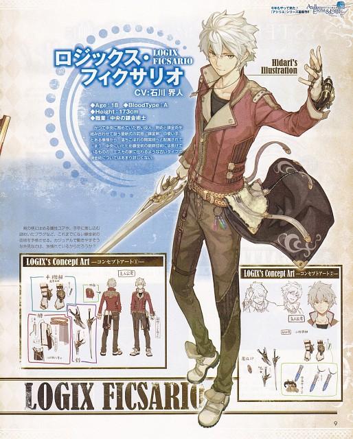 Hidari, Studio Gokumi, Gust, Atelier Escha & Logy, Logix Fiscario