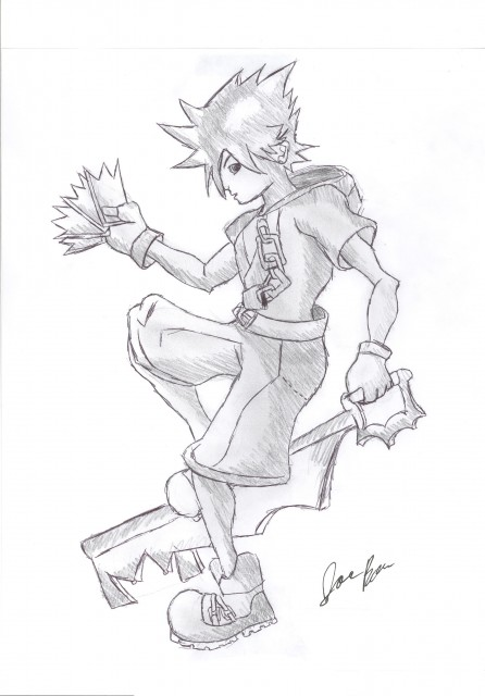 Square Enix, Kingdom Hearts, Sora, Member Art