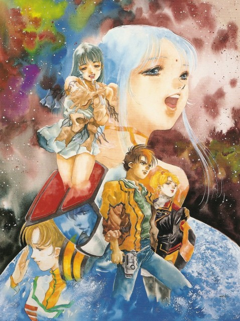 Haruhiko Mikimoto, Tatsunoko Production, Bandai Visual, Macross, Haruhiko Mikimoto Illustrations