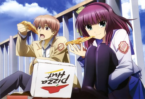 Na-Ga, Key (Studio), P.A. Works, Angel Beats!, Angel Beats! Official Guide Book