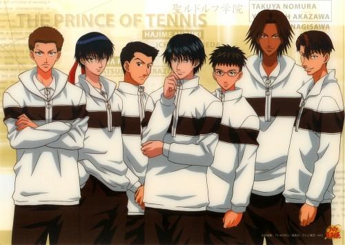 Takeshi Konomi, J.C. Staff, Prince of Tennis, Yoshirou Akazawa, Hajime Mizuki