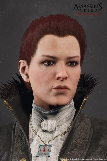 Ubisoft, Assassin's Creed Syndicate, Lucy Thorne, Official Digital Art