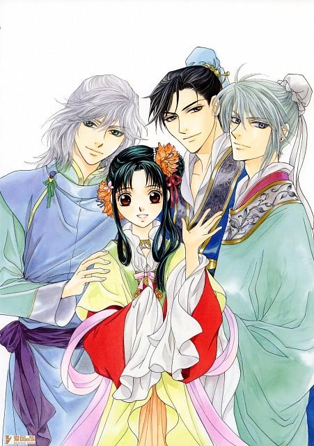 Kairi Yura, Madhouse, Saiunkoku Monogatari, Saiunkoku Monogatari Illustrations, Shuuei Ran