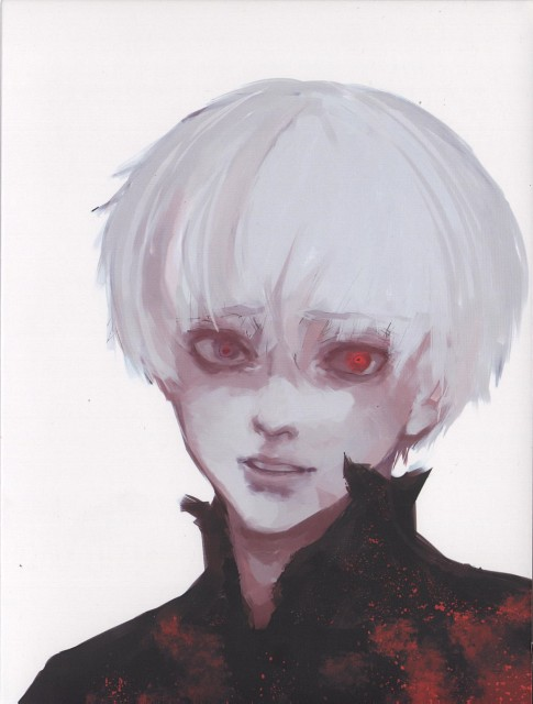Sui Ishida, Studio Pierrot, Tokyo Ghoul, Ken Kaneki, DVD Cover