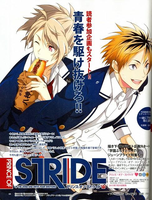 Kadokawa Games, Madhouse, Prince of Stride, Asuma Mayuzumi, Riku Yagami