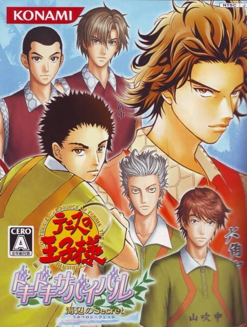 Takeshi Konomi, J.C. Staff, Prince of Tennis, Kiyosumi Sengoku, Kentaro Aoi