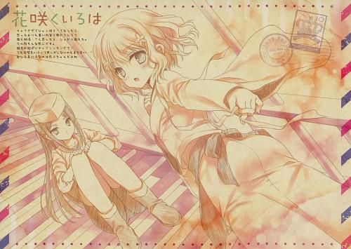 WNB Mark, Hanasaku Iroha, Collage Papier, Ohana Matsumae, Doujinshi