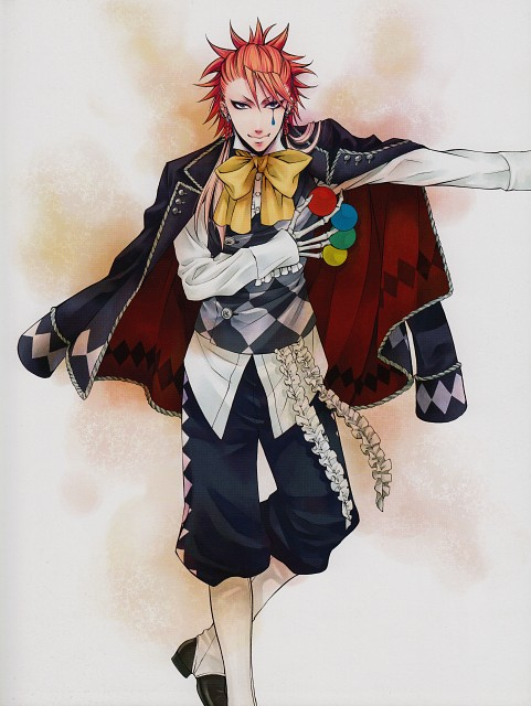Yana Toboso, Kuroshitsuji, Black Butler Artworks 1, Joker, Manga Cover