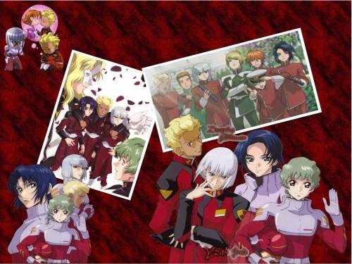 Sunrise (Studio), Mobile Suit Gundam SEED, Miriallia Haw, Athrun Zala, Yzak Joule Wallpaper