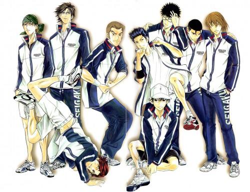 Takeshi Konomi, J.C. Staff, Prince of Tennis, Kunimitsu Tezuka, Takeshi Momoshiro