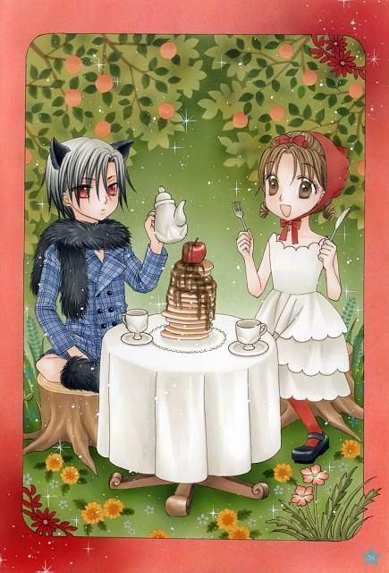 Tachibana Higuchi, Gakuen Alice, Graduation - Gakuen Alice Illustration Fan Book, Natsume Hyuuga, Mikan Sakura