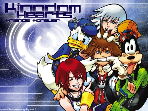 Square Enix, Kingdom Hearts, Goofy, Riku, Sora Wallpaper
