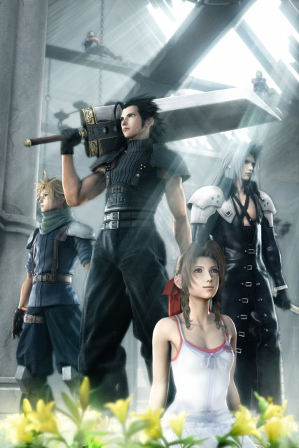Square Enix, Final Fantasy VII: Crisis Core, Aerith Gainsborough, Angeal Hewley, Cloud Strife