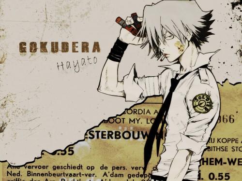 Akira Amano, Artland, Katekyo Hitman Reborn!, Hayato Gokudera Wallpaper