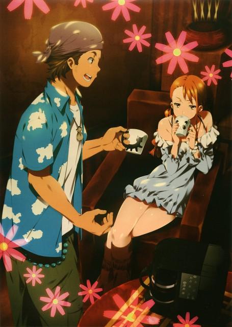 Makoto Mizuki, A-1 Pictures, AnoHana, AnoHana Unofficial Fan Book, Naruko Anjou
