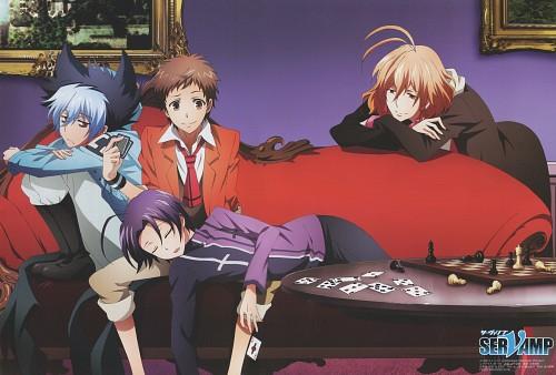 Tanaka Strike, Servamp, Kuro (Servamp), Misono Alicein, Mahiru Shirota