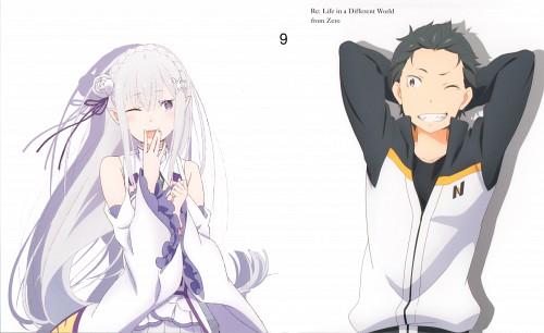 Kyuuta Sakai, White Fox, Re:Zero, Subaru Natsuki, Emilia (Re:Zero)