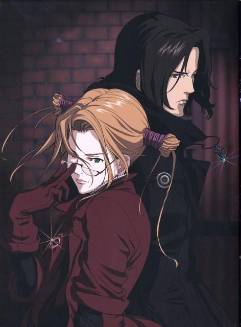 Sunrise (Studio), Witch Hunter Robin, Robin Sena, Amon (Witch Hunter Robin)