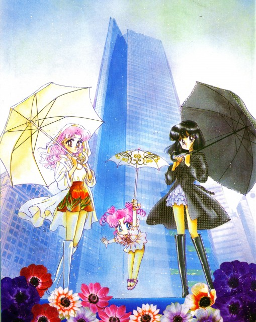 Naoko Takeuchi, Bishoujo Senshi Sailor Moon, BSSM Original Picture Collection Vol. V, Chibi Chibi, Hotaru Tomoe