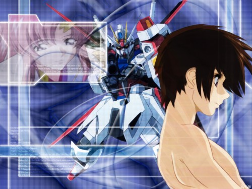Sunrise (Studio), Mobile Suit Gundam SEED, Kira Yamato, Lacus Clyne Wallpaper