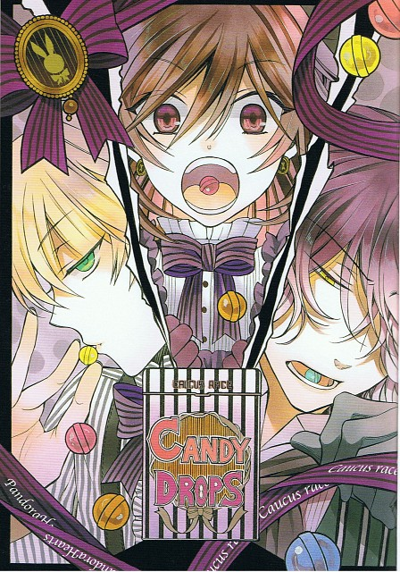 Jun Mochizuki, Xebec, Pandora Hearts, Oz Vessalius, Gilbert Nightray