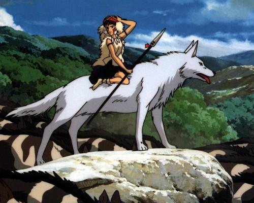 Kazuo Oga, Studio Ghibli, Princess Mononoke, San, Moro