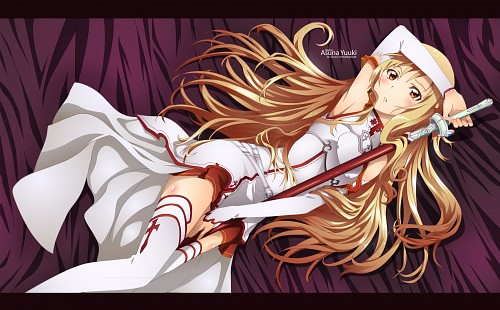 Abec, A-1 Pictures, Sword Art Online, Asuna Yuuki, Vector Art
