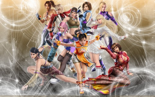 Namco, Tekken, Nina Williams, Michelle Chang, Ling Xiaoyu Wallpaper