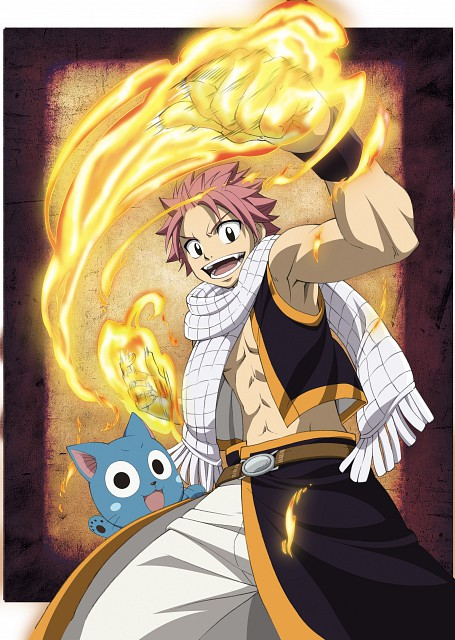 Hiro Mashima, Satelight, Fairy Tail, Happy (Fairy Tail), Natsu Dragneel