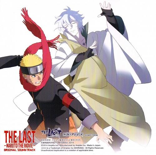 Studio Pierrot, Naruto, Naruto Uzumaki, Toneri Otsutsuki, Album Cover