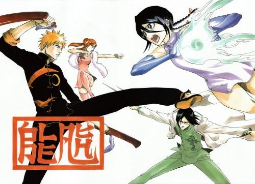 Kubo Tite, Bleach, All Colour But The Black, Uryuu Ishida, Ichigo Kurosaki