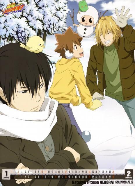 Akira Amano, Artland, Katekyo Hitman Reborn!, Hibird, Reborn (Character)