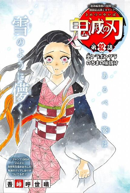 Kimetsu no Yaiba, Nezuko Kamado, Chapter Cover