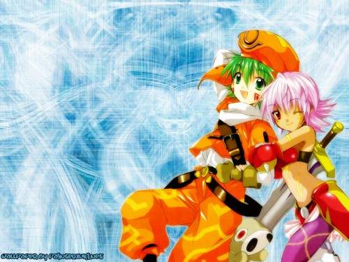 Rei Izumi, Bee Train, .hack//Legend of the Twilight, Shugo Kunisaki, Rena Kunisaki Wallpaper
