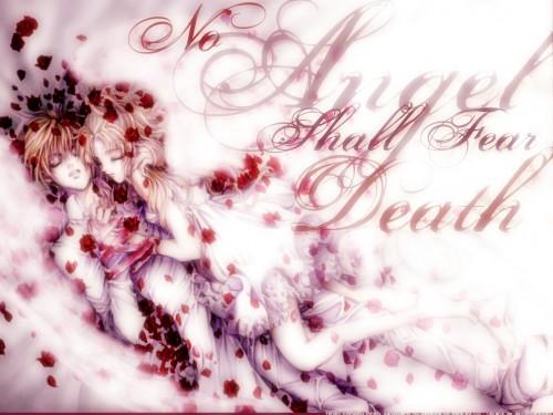 Kaori Yuki, Angel Sanctuary, Setsuna Mudo, Sara Mudo Wallpaper