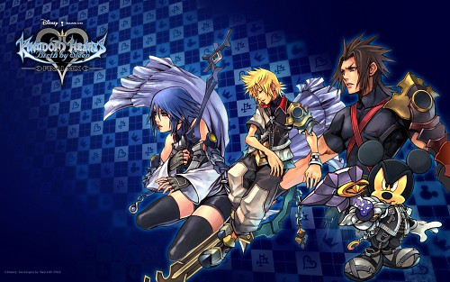 Square Enix, Kingdom Hearts, Aqua (Kingdom Hearts), Mickey Mouse, Terra