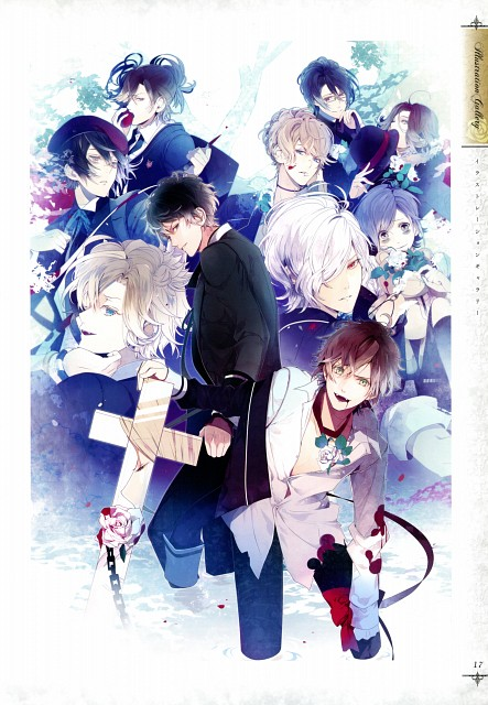 Satoi, Idea Factory, Rejet, Zexcs, Diabolik Lovers Official Visual Fan Book